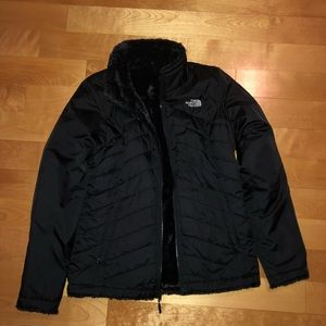 Women's reversible north face jacket